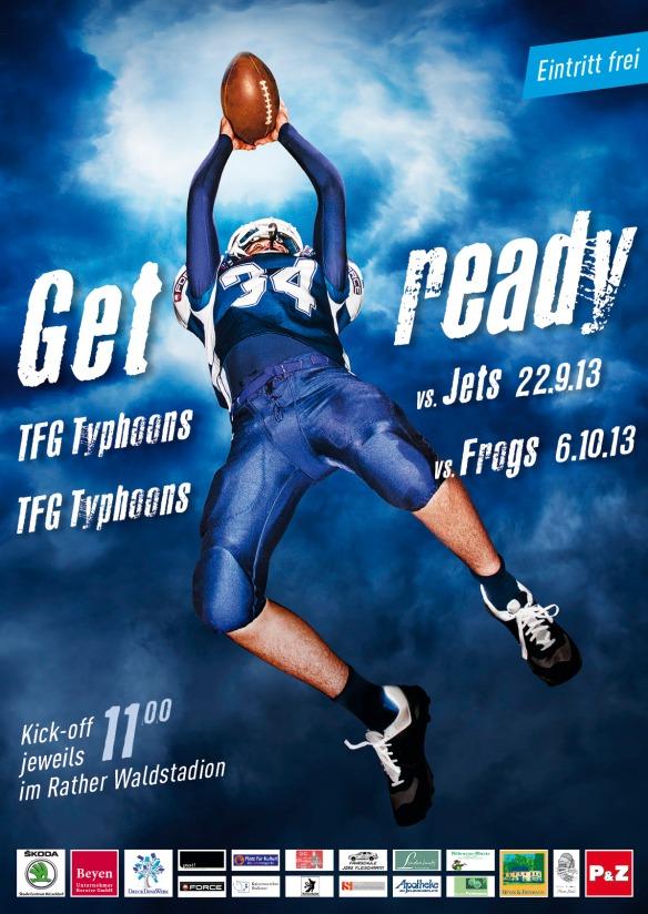 U 16 TFG Typhoons Plakat 2013