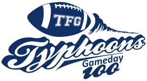 Typhoons Gameday 100 Logo