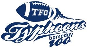 Typhoons Gameday 100 Logo